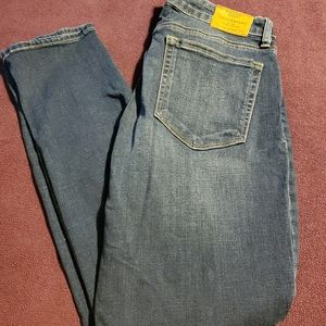 Straight leg skinny jeans by lucky brand